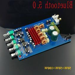 Bluetooth 5.0 TPA3116D2 2.1 digital power amplifier board 50