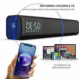 Bluetooth 5.0 TV Sound Bar Home Theater 3D Soundbar Subwoofe