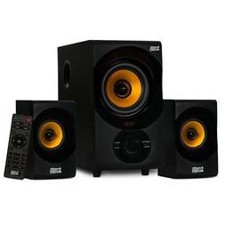 bluetooth home 2 1 speaker system