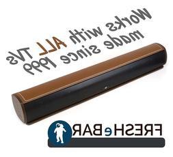 Bluetooth Leather Television Sound Bar - FRESHeBAR TV Soundb