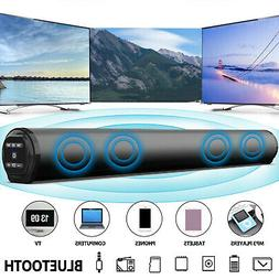 Bluetooth Speaker Sound Bar Wired Wireless Subwoofer Bass Ho