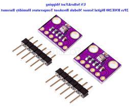 2Pcs BME280 Digital Sensor Module Breakout Temperature Humid