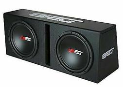"""1200W Complete Bass Package Dual 10"""" Subwoofer Monoblock Amp"""