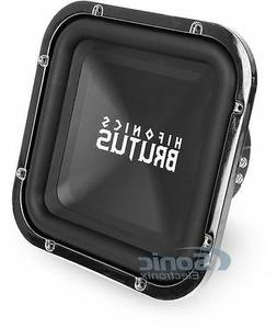 Hifonics BRZ12SQD4 Brutus Dual Square Subwoofer, 4-Ohm 600-W