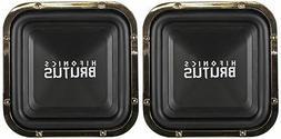 """Hifonics BRZ12SQD4 12"""" 2400 Watt Dual 4-Ohm Car Audio Squar"""