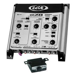 Boss Audio Bx45 2/3-way Electronic Crossover With Remote Sub