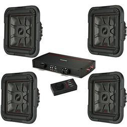 """Kicker Car Audio L7 12"""" 1200W Subwoofers 46L7T124 and KXA240"""