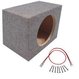 Car Audio Single 10 Inch Sub Box Rear Firing Subwoofer Seale