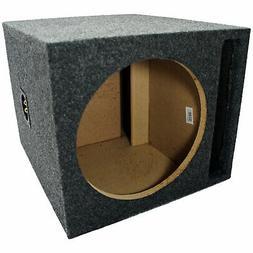 "Car Audio Single 12"" SPL Bass Subwoofer Labyrinth Vent Sub B"