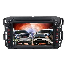 Car Stereo DVD Player for GMC Chevy Silverado 1500 2012 GMC
