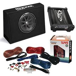 "Car Subwoofer And Amp Combo: Kicker 10TC104 Comp 10"" 300W"