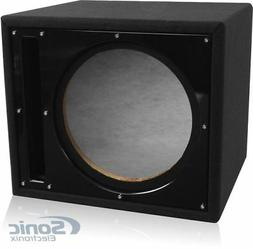 Belva 12-inch Car Subwoofer Box Sealed and Ported 3/4-inch M