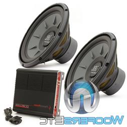 12IN Car Subwoofers - Sub driver only, Black