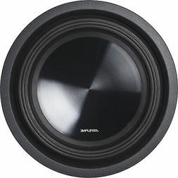 "ALPINE SWT-10S2 Car 10"" SWT Series Single 2-ohm Shallow Moun"
