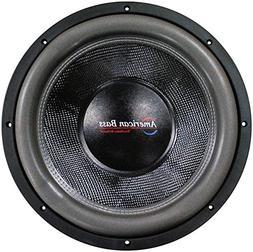"American Bass 18"" Cast Frame 320Oz Magnet Woofer"