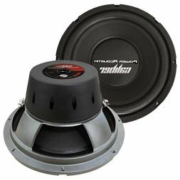 """Power Acoustik CBW-124 1500 Watt 12"""" Dual 4 Ohm DVC Car Audi"""