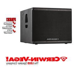 Cerwin Vega CVXL 118S Powered 2000-Watt 18-inch Subwoofer wi