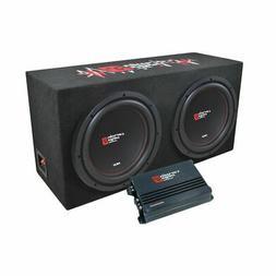 "Cerwin Vega XED 3000W MAX Basskit Dual 12"" Loaded Sealed 3/4"