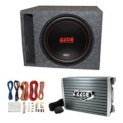 """Boss Chaos Exxtreme 12"""" 1200W 4 Ohm Subwoofer w/Vented Box,"""