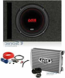 """Boss Chaos Exxtreme 10"""" 1000W 4 Ohm Subwoofer w/Vented Box,"""