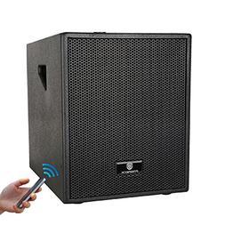 PRORECK CLUB B 12-Inch 3000 Watt 4-Channel Stereo DJ/Powered