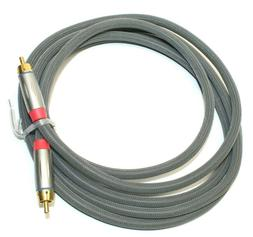 Rocketfish Coaxial RCA Audio Cable Cord for Stereo Receiver