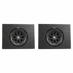 Kicker Comp 43C104 10 Inch 300 Watt Subwoofer  & Box Enclosu