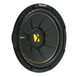 Kicker 12 Inch CompC 600 Watt 4 Ohm Single Voice Coil SVC Su