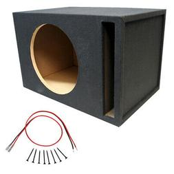 """Competition Single 18"""" Mdf 1"""" Wood Vent Subwoofer Sub Box Re"""