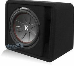 Kicker CompR 12 2 Ohm Subwoofer in Vented Enclosure