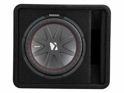 Kicker CompR12 12 Inch 30cm Subwoofer in Vented Enclosure 2