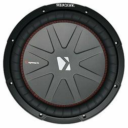 Kicker CompRT Single 12 Inch 1000 Watt Max Dual 2 Ohm Shallo
