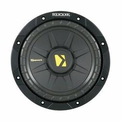 Kicker CompS 8 Inch 4 Ohm Subwoofer 40CWS84