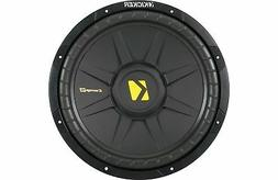 """Kicker CompS Single Voice Coil 12"""" Subwoofer, 600 Watts"""