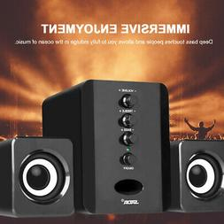 Mini USB Computer Desktop Speakers Stereo Surround Audio Pla