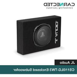 "JL Audio CS110LG-TW3 Sealed PowerWedge Enclosure with 10"" TW"