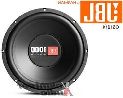"CS1214 1000-watt, 12"" car audio subwoofer"