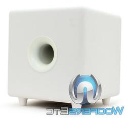 """FOCAL CUB3 WHITE COMPACT ACTIVE 8"""" POLYFLEX SUBWOOFER BASS S"""