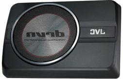 "JVC CW-DRA8 250 Watts 8"" DRVN Series Compact Powered Car Aud"