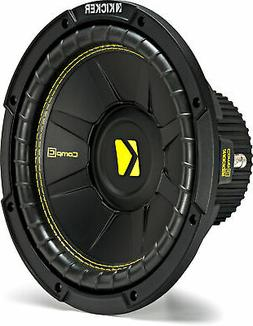 """Kicker CWCS104 CompC 10"""" Subwoofer Single Voice Coil 4-Ohm"""