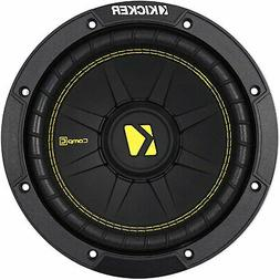 "Kicker CWD8 Car Audio CompC Subwoofer Dual 4 Ohm 8"" Sub 44CW"