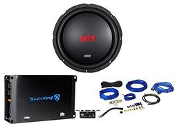 "Boss Audio CXX104DVC 10"" 1000 Watt Car Subwoofer + Mono Ampl"