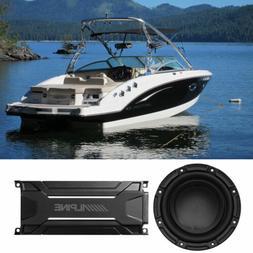 "Polk Audio DB842DVC 8"" 750 Watt Marine Boat Subwoofer Sub+"