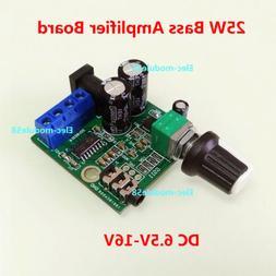 DC 9V-15V 25W Audio Mono amplifier Board Car Home Subwoofer