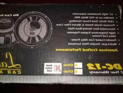 Lanzar DC Series 12 Inch Sub dual voice coil Subwoofer 1998