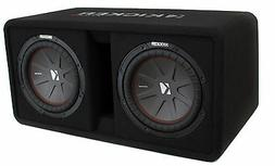 Kicker DCWR102  10 Dual Subwoofer Enclosure