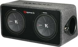 "Kicker DCWR122 12"" 2000W Loaded Car Subwoofers Subs plus Box"
