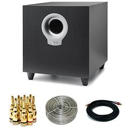 Elac Debut Series S10 200W Powered Subwoofer  with 15FT Coax