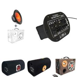 DIY Bluetooth FM Radio Player Subwoofer Amplifier Motorcycle