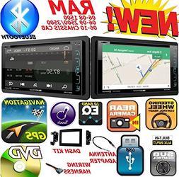 2006-2010 DODGE RAM Double Din DVD CD GPS Navigation Bluetoo
